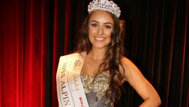 """Strahlend schön: """"Miss Alpin 2020"""" Lisa Chitana Harasser."""