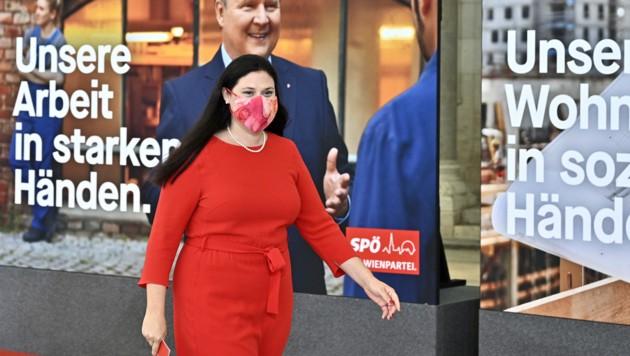 SPÖ-Landesparteisekretärin Barbara Novak