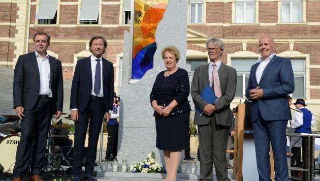 Auch Landtagspräsidentin Verena Dunst kam zur feierlichen Eröffnung nach Pinkafeld (Bild: Franz Weber)