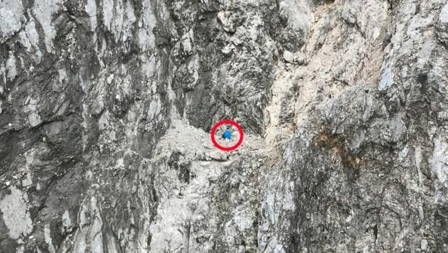 Der Rucksack des Mannes. (Bild: zoom.tirol)