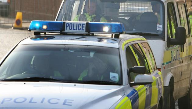 Polizei in Großbritannien (Symbolfoto) (Bild: AFP)