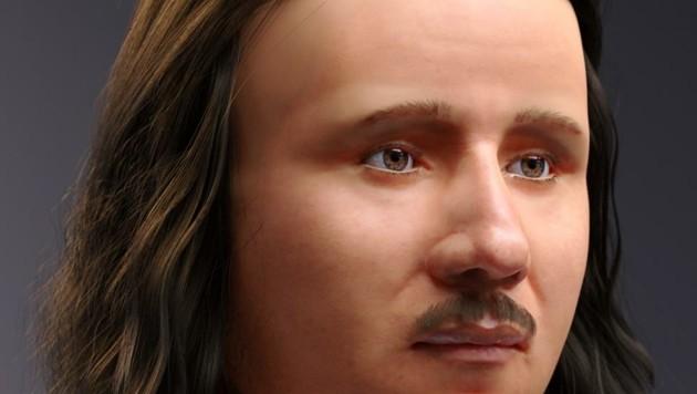 Gesicht aus der Vergangenheit: So könnte Propst Marzellinus ausgesehen haben (Bild: Lukas Fischer)