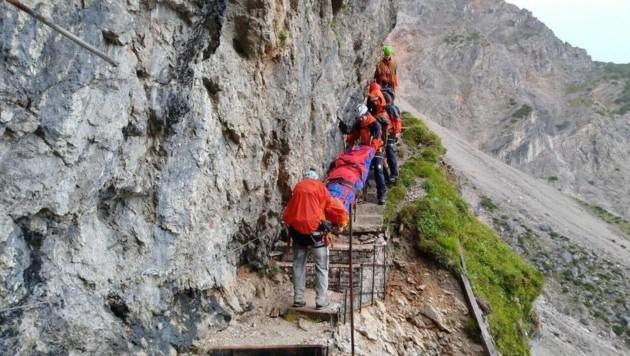 (Bild: Bergrettung Saalfelden)