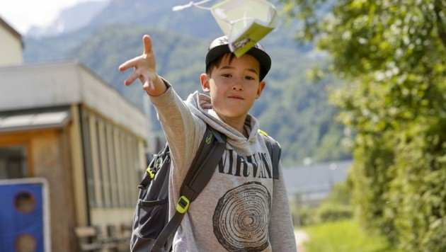 Bei grüner Corona-Ampel brauchen Schüler keine Maske (Bild: Tschepp Markus)