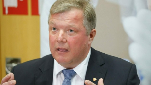 Tirols Gesundheitslandesrat Bernhard Tilg (ÖVP) (Bild: Birbaumer Christof)