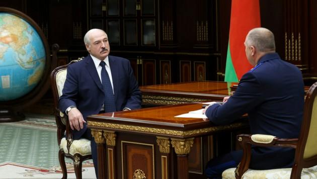 Der weißrussische Präsident Alexander Lukaschenko ist bereits seit 1994 im Amt.