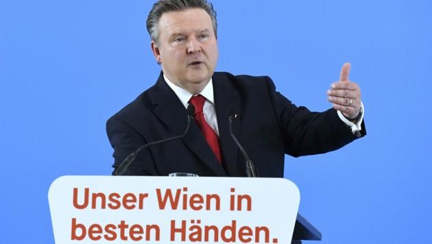 Bürgermeister Michael Ludwig (Bild: APA/ROBERT JAEGER)