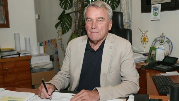 Karl Staudinger, ÖVP-Bürgermeister in Schwanenstadt (Bild: Helmut Klein)