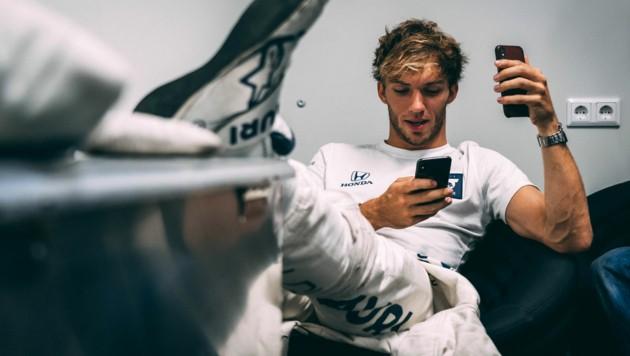 (Bild: Josh Kruse / Scuderia AlphaTauri / Red Bull Content Pool)