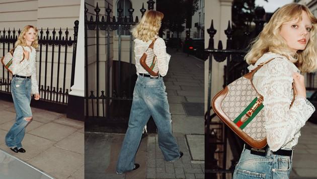 Die Jackie Bag von Gucci erlebt ein Revival. (Bild: Gucci)