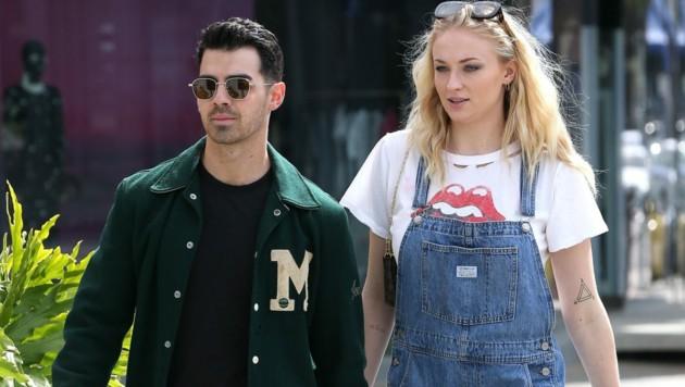 Sophie Turner mit Ehemann Joe Jonas