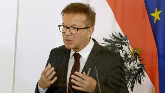 Gesundheitsminister Rudolf Anschober (Bild: APA/Herbert Pfarrhofer)