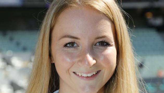 Melanie Schroll (24) leitet das Team der Hostessen. (Bild: Birbaumer Christof)