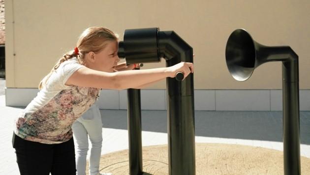 Für Kinder gibt es viele interaktive Stationen. (Bild: Sepp Pail)