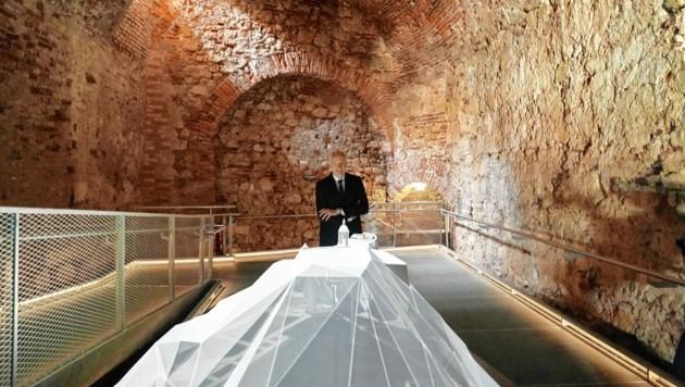 Stadtrat Riegler ist stolz auf das neue Museum, das um knapp 3 Millionen Euro errichtet wurde. (Bild: Sepp Pail)