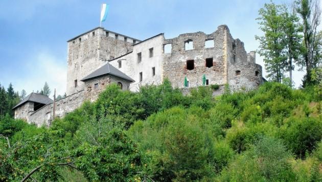 Burgruine Lichtenegg bei Wartberg