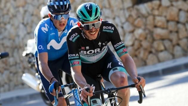 Gregor Mühlberger musste die Tour de France 2020 auf der elften Etappe verlassen. (Bild: Luis Angel Gomez)