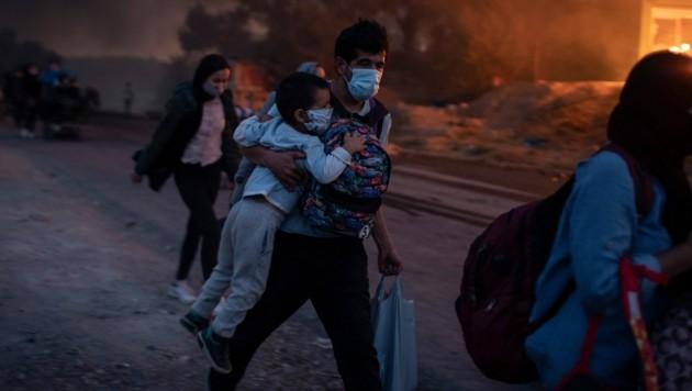 (Bild: AP Photo/Petros Giannakouris)