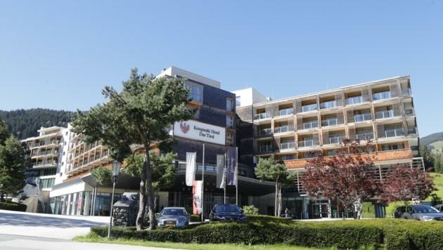 Das Hotel Kempinski ist ebenfalls ein Partnerhotel - in der Premium-Kategorie. (Bild: Birbaumer Christof)