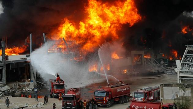 (Bild: AP/Hussein Malla)