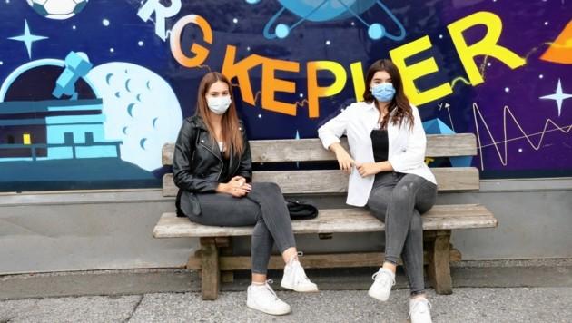 Maskenpflicht am Montag wohl auch im Grazer BRG Kepler (Bild: Christian Jauschowetz)
