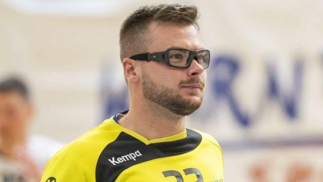 Sportbrille ist nun Pflicht für Ferlach-Goalie Flo Strießnig. (Bild: GEPA pictures/ Wolfgang Jannach)