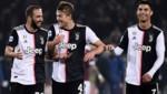 Gonzalo Higuain, Matthijs de Ligt und Cristiano Ronaldo (von li. nach re.) (Bild: AFP )