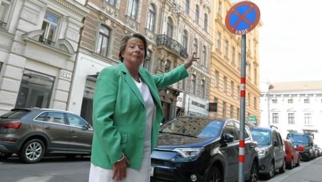 Für Stenzel hat die City viel zu wenige Anrainerparkplätze (Bild: Gerhard Bartel)