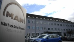 Außenaufnahme des Standortes des deutschen Lkw- und Bus-Herstellers MAN in Steyr (Bild: FOTOKERSCHI.AT/WERNER KERSCHBAUM)