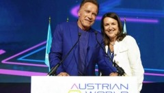 Arnold Schwarzenegger und Monika Langthaler laden zum Klimagipfel. (Bild: The Schwarzenegger Climate Initiative)