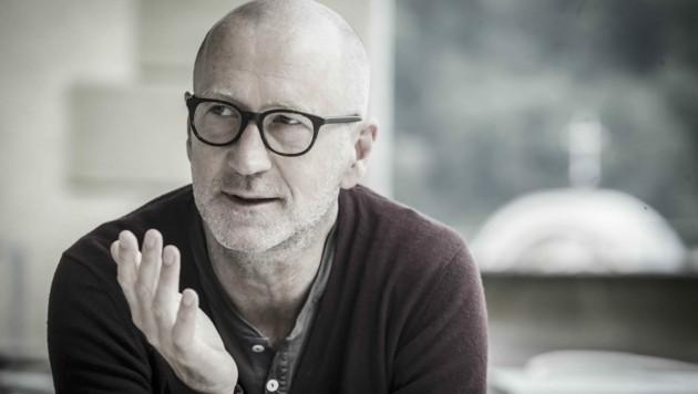 """Peter Lohmeyer liest bei den """"Verstörungen"""" am 17.9. Gedichte von Friedrich Hölderlin."""