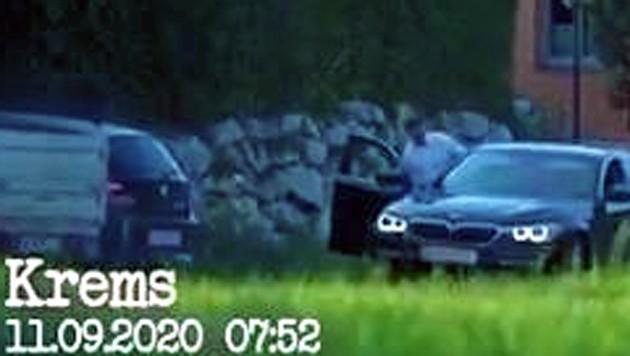 Die FPÖ filmte Wölbitschs Autofahrt. (Bild: Screenshot: FPÖ TV)