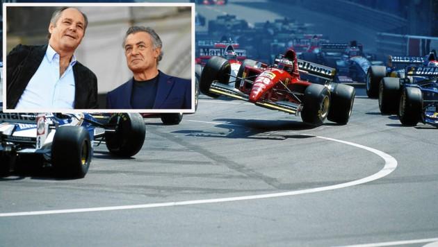 """""""Überflieger"""" Gerhard Berger (28) und Jean Alesi bildeten 1995 das Ferrari-Fahrerduo, holten in der Marken-WM Platz 3. (Bild: Rainer W. Schlegelmilch)"""