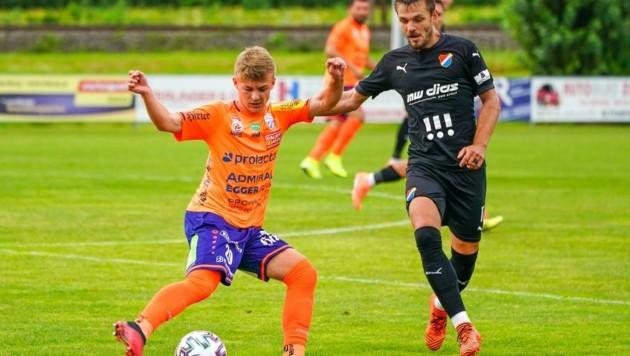 Philipp Sturm kommt in Hartberg gut zurecht und glaubt an eine erfolgreiche Saison. (Bild: SEPA.Media | Markus Tobisch)
