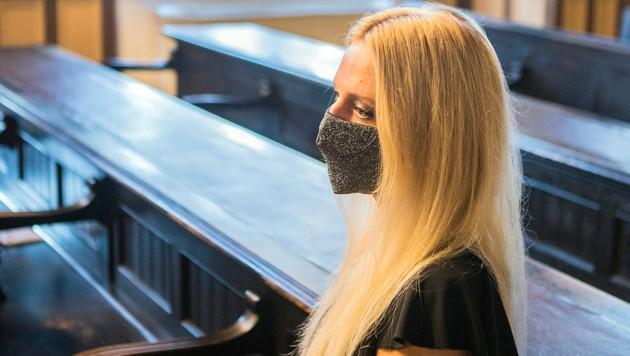 Julija Adlesic musste sich in Ljubljana vor Gericht verantworten (Bild: AP)
