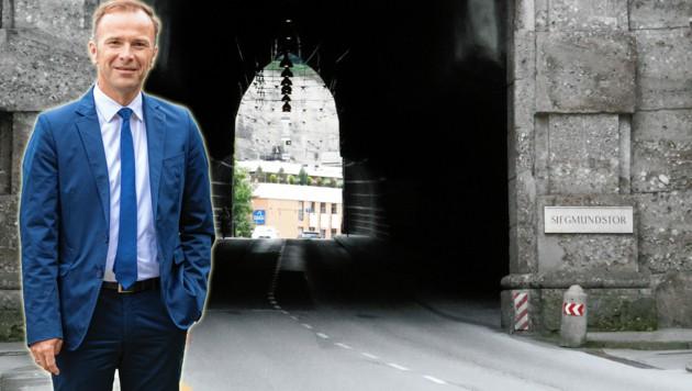SP-Vizebürgermeister Bernhard Auinger ließ die Salzburger befragen. (Bild: ANDREAS TROESTER)