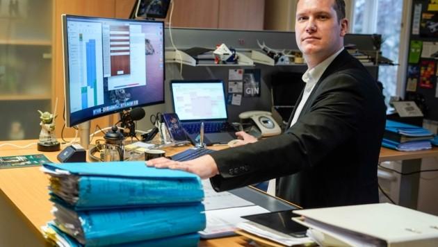 Der Welser Strafverteidiger Michael Lanzinger glaubt, dass Emotionen übergelaufen sind (Bild: Wenzel Markus)