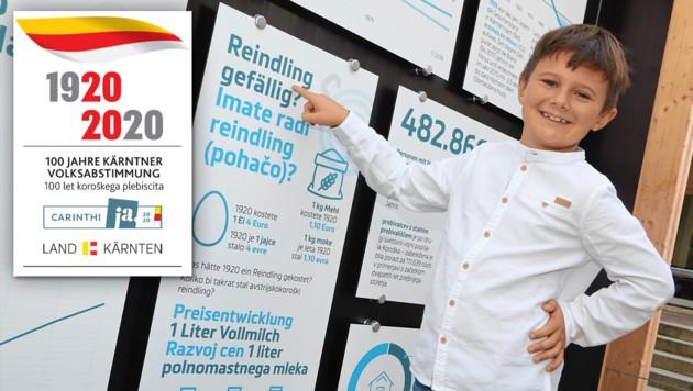Geschichte erfahren: Kinder und Jugendliche will die Mobile Ausstellung ebenso ansprechen wie Erwachsene (Bild: Uta Rojsek-Wiedergut, Krone KREATIV)