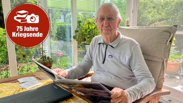 An die Zeit nach dem Krieg erinnert sich der fitte 90-Jährige noch sehr genau.