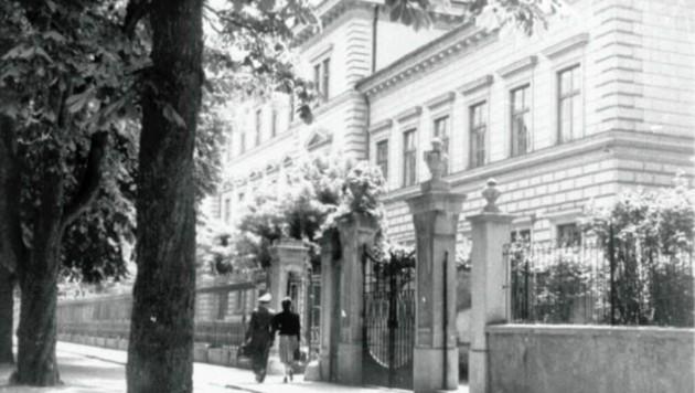 Beim Wiederaufbau der Lehrerbildungsanstalt in der Klagenfurter Bahnhofstraße half Reitzl mit.