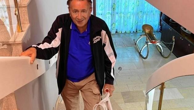 Richard Lugner ist nach seinem Krankenhausaufenthalt wieder zu Hause. (Bild: zVg)