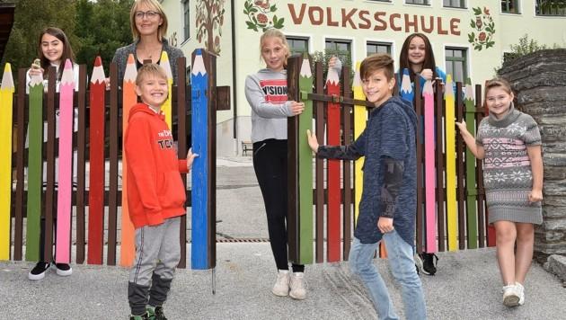 In der Sommerschule im Lungau stimmten sich die 19 Kinder bereits auf den Schulstart ein (Bild: Holitzky Roland)