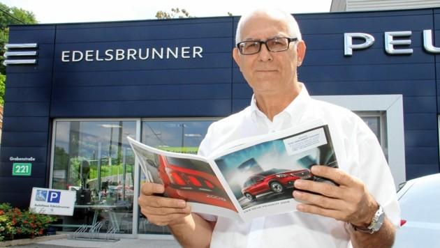 Klaus Edelsbrunner und der steirische Autohandel blicken wieder optimistisch in den Herbst (Bild: Jauschowetz Christian)
