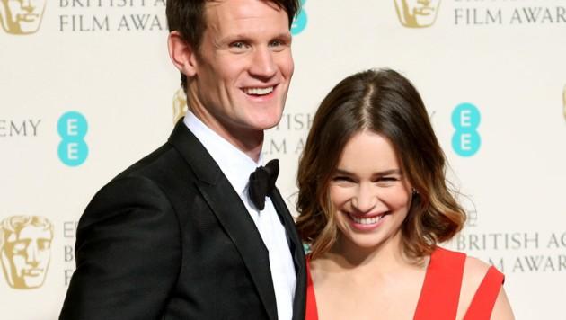 Matt Smith und Emilia Clarke bei den Bafta-Film-Awards (Bild: www.PPS.at)