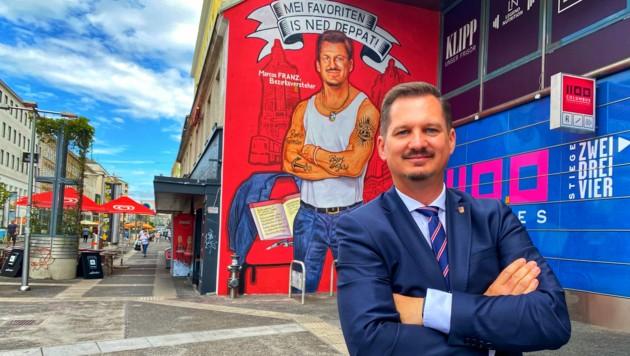 Der Favoritner Bezirksvorsteher Marcus Franz (SPÖ) steht derzeit im Kreuzfeuer Freiheitlicher Kritik.