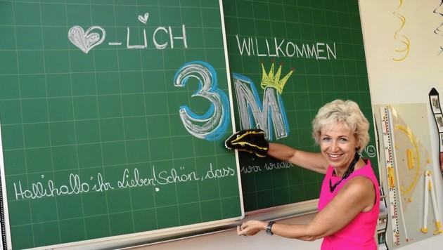 Maria Wacker, Direktorin der VS Graz-St. Peter