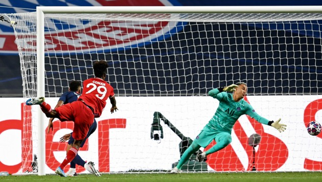 Im Finale der Champions-League lief es nicht nur für den FC Bayern rund. (Bild: AP)