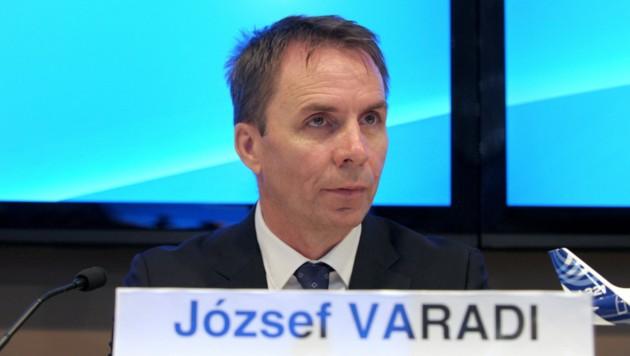 Wizz Air CEO Jozsef Varadi (Bild: AFP)
