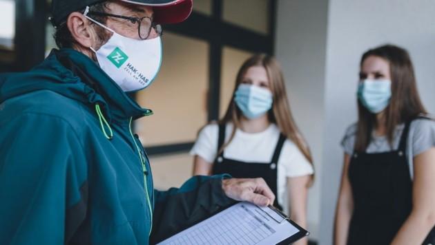 Der Schulwart in Zell ist für das Kontakt- Tracing zuständig (Bild: EXPA/ JFK)