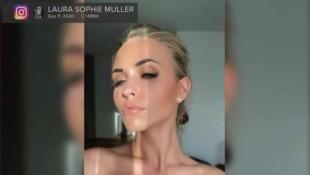 Laura Müller zeigt sich auf Instagram neuerdings mit Schmollmund. (Bild: instagram.com/lauramuellerofficial)